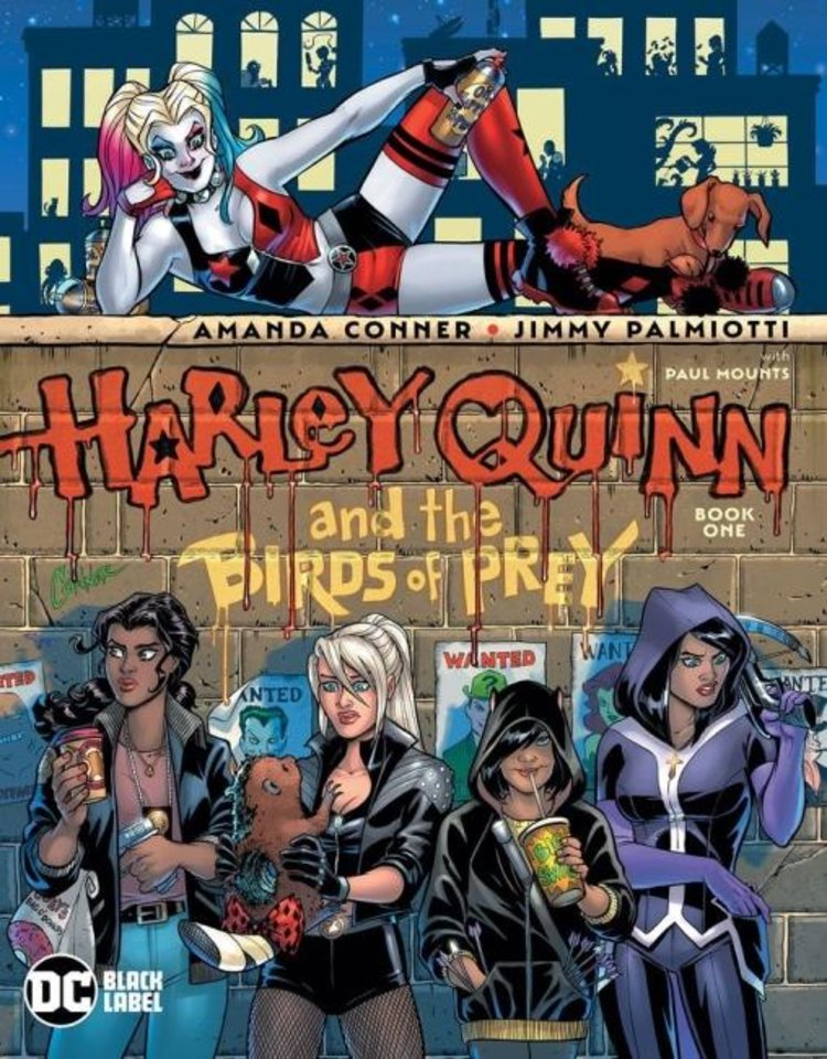 Photo -  Harley Quinn and the Birds of Prey get their own Black Label miniseries for mature readers. [DC Comics]