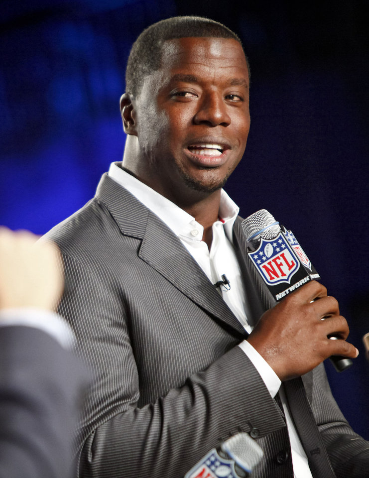 This Aug. 23, 2012 file photo originally released by the NFL shows former NFL quarterback Kordell Stewart during the DirecTV NFL Fantasy Week at the Best Buy theatre in New York. Stewart has filed for divorce from his reality television star wife. In a divorce petition filed Friday in Fulton County Superior Court in Atlanta, Stewart says his marriage to Porsha Williams is