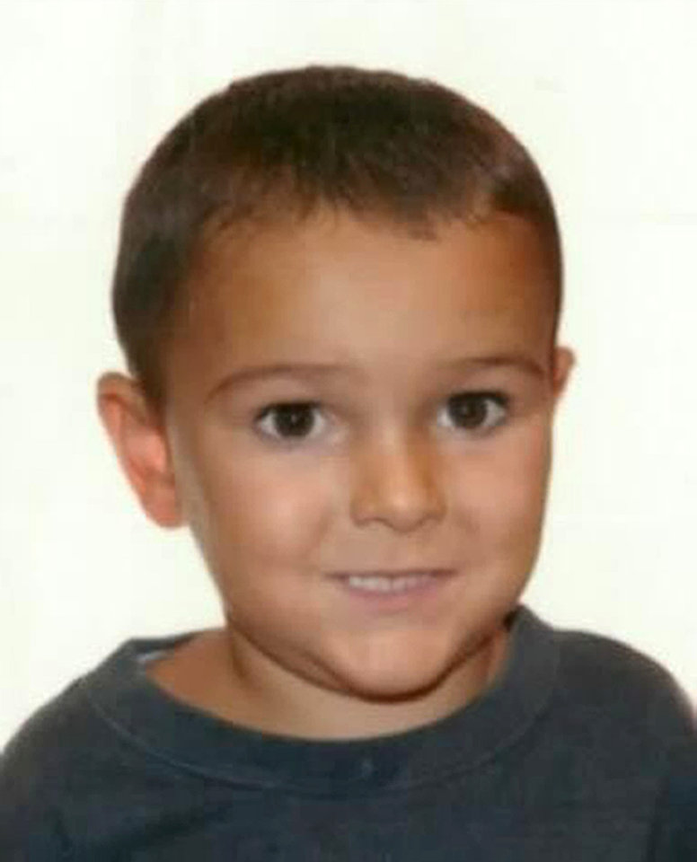Photo - This is a an undated handout file photo issued by Hampshire Police on Monday Sept. 1, 2014 of Ashya King, who has a brain tumour and was taken by his parents from hospital without the consent of his doctors.  Critically-ill 5-year-old boy Ashya King driven to Spain by his parents, Brett and Naghemeh, against doctors' advice is receiving medical treatment for a brain tumor in a Spanish hospital as his parents await extradition to Britain, police said Sunday Aug. 31, 2014. Officers received a phone call late Saturday from a hotel east of Malaga advising that a vehicle fitting the description circulated by police was on its premises. Both parents were arrested and the boy, Ashya King, was taken to a hospital, a Spanish police spokesman said. (AP Photo/Hampshire Police)