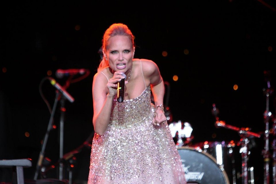 Photo - Kristin Chenoweth performs at the 2011 Oklahoma Music Hall of Fame. Photo by Jay Spear