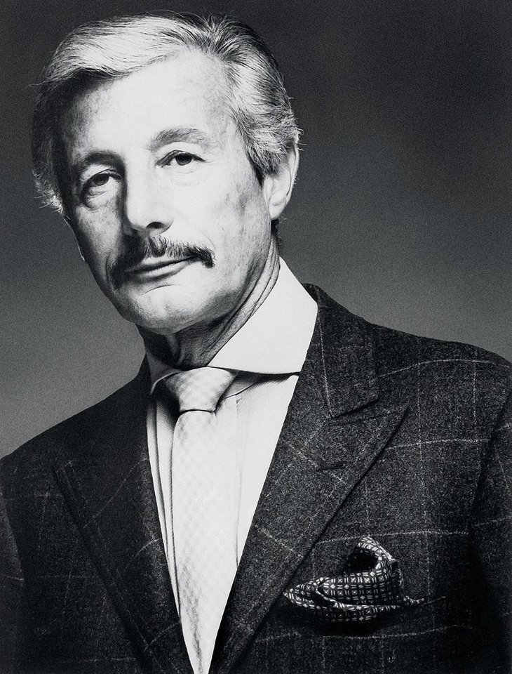Photo - Designer Oleg Cassini's estate will be auctioned June 27 in New York. The designer died in 2006.