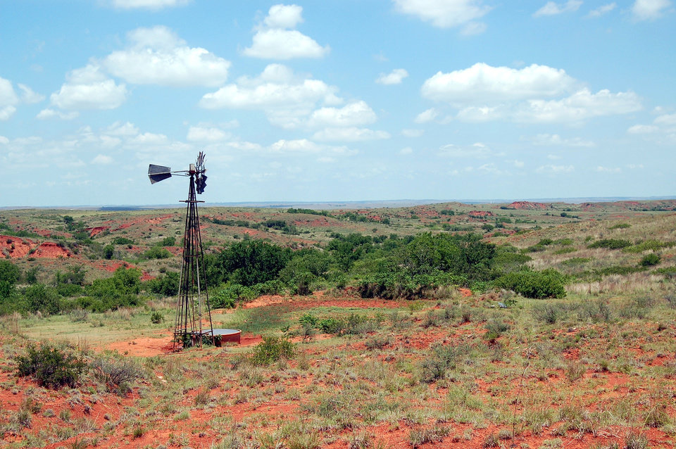 View from the National Black Kettle Grasslands near Cheyenne,Oklahoma<br/><b>Community Photo By:</b> Eldon Harris<br/><b>Submitted By:</b> Eldon, Bethany