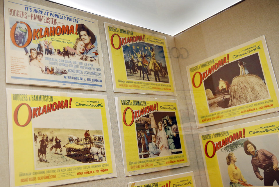 Photo -  Lobby cards used to advertise the film version of the