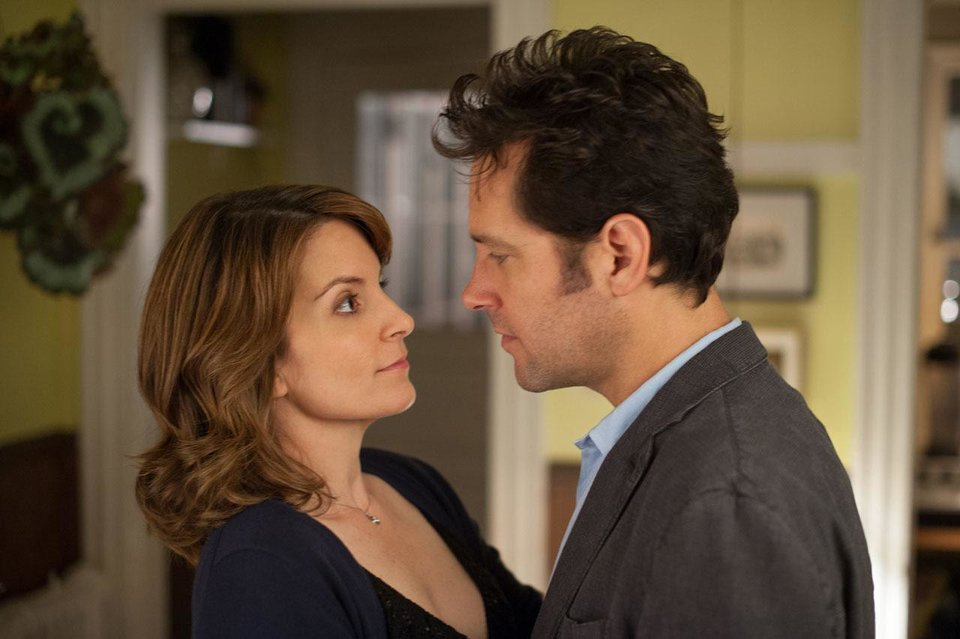 Photo - Tina Fey and Paul Rudd co-star in