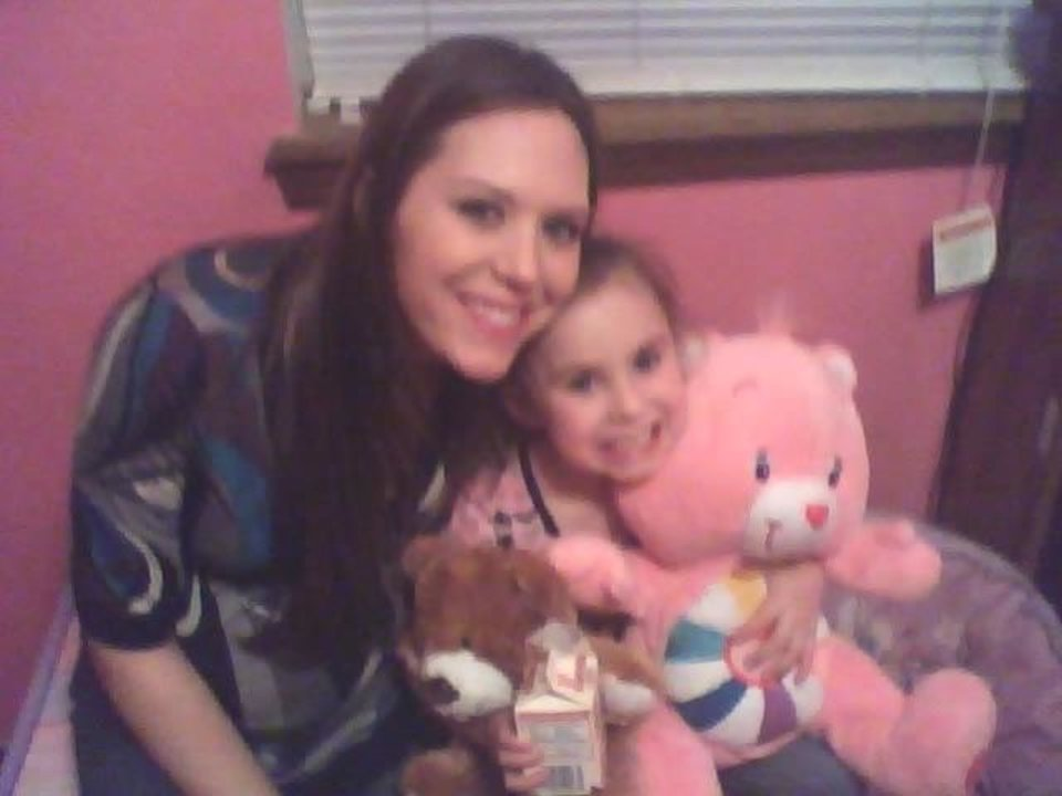 Alysia and her mommy with the baby in her tummy and her teddy bears<br/><b>Community Photo By:</b> Aunt TAMA of course<br/><b>Submitted By:</b> Tama, Midwest