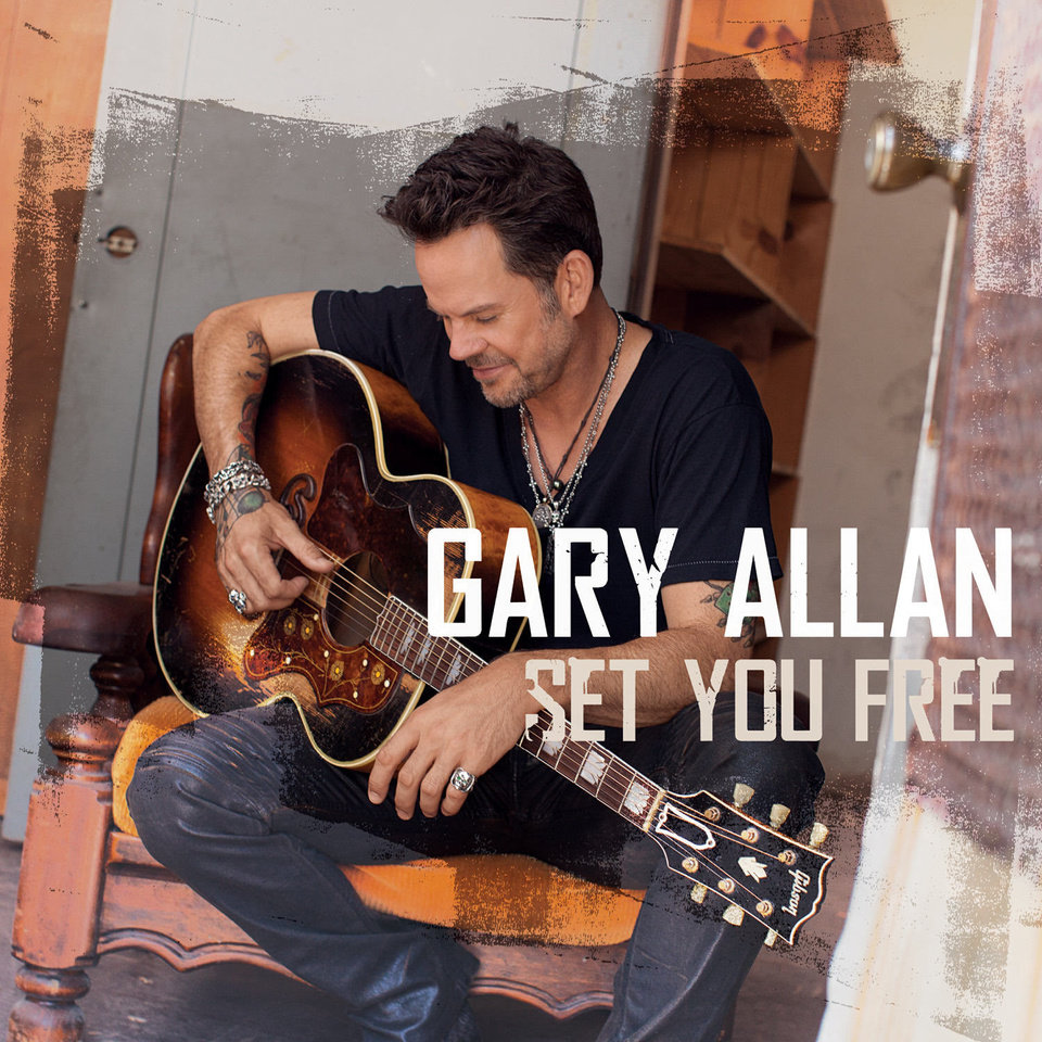 "This CD cover image released by MCA Nashville shows ""Set You Free,"" by Gary Allan. (AP Photo/MCA Nashville) ORG XMIT: NYET115"
