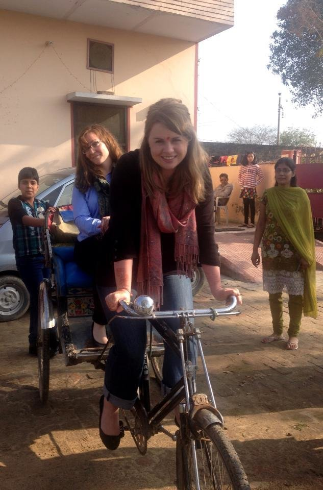 New career on the horizon: rickshaws!