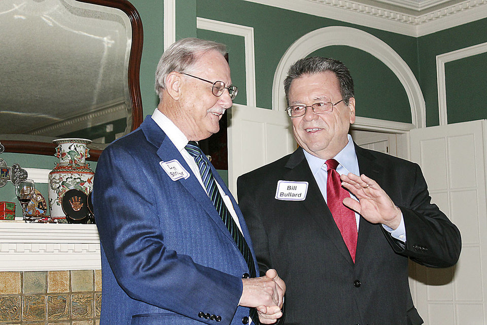 Dean Stringer, Bill Bullard. Photo provided