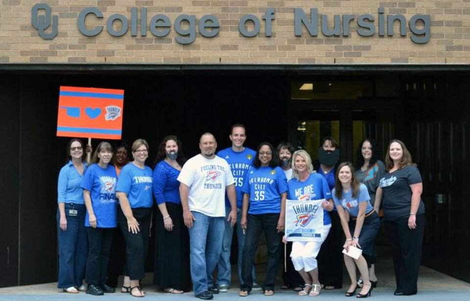 Thundering Up at OU Nursing