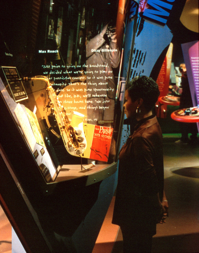 Photo - A look inside the American Jazz Museum in Kansas City.   - PROVIDED