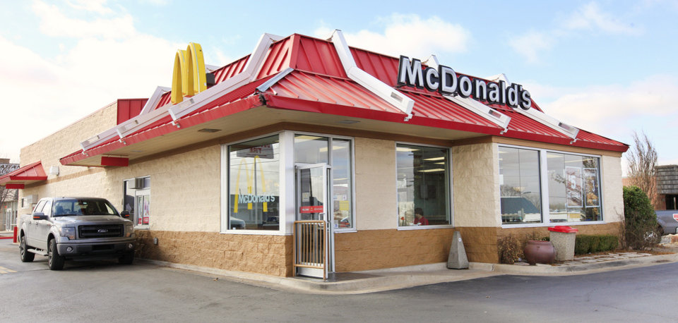 Photo - This McDonald's located at 10809 N May Ave. in The Village sold last June for $1.5 million in a transaction handed by Will Lightfoot of CB Richard Ellis-Oklahoma.  Photo by Paul B. Southerland  PAUL B. SOUTHERLAND - PAUL B. SOUTHERLAND