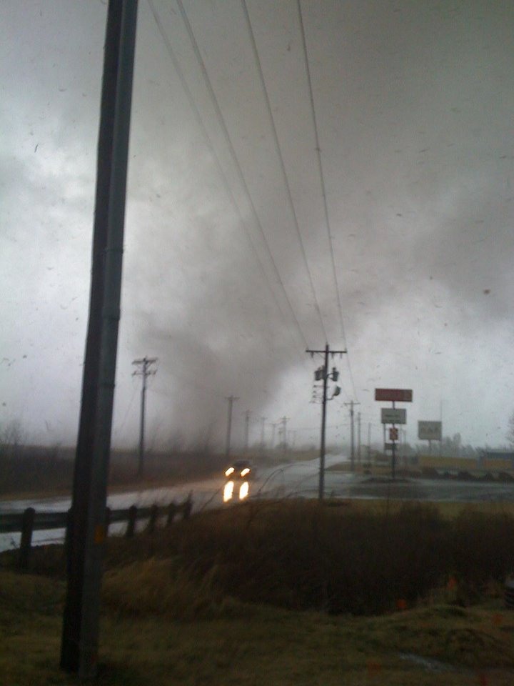 Photo - Misty Shortt was at Waterloo and Broadway at IB's Gas Station when she took this photo.