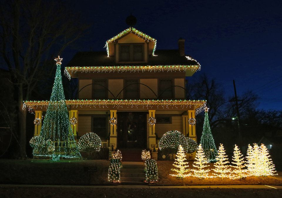 Christmas Light Tours In Oklahoma City