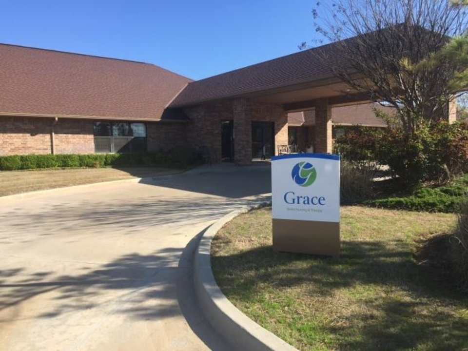 Photo -  A resident at Grace Skilled Nursing and Therapy in Norman has passed away after being dianosed with COVID-19. The resident, and another resident, were moved to Norman Regional Hospital before they tested positive. [Tim Willert/The Oklahoman]