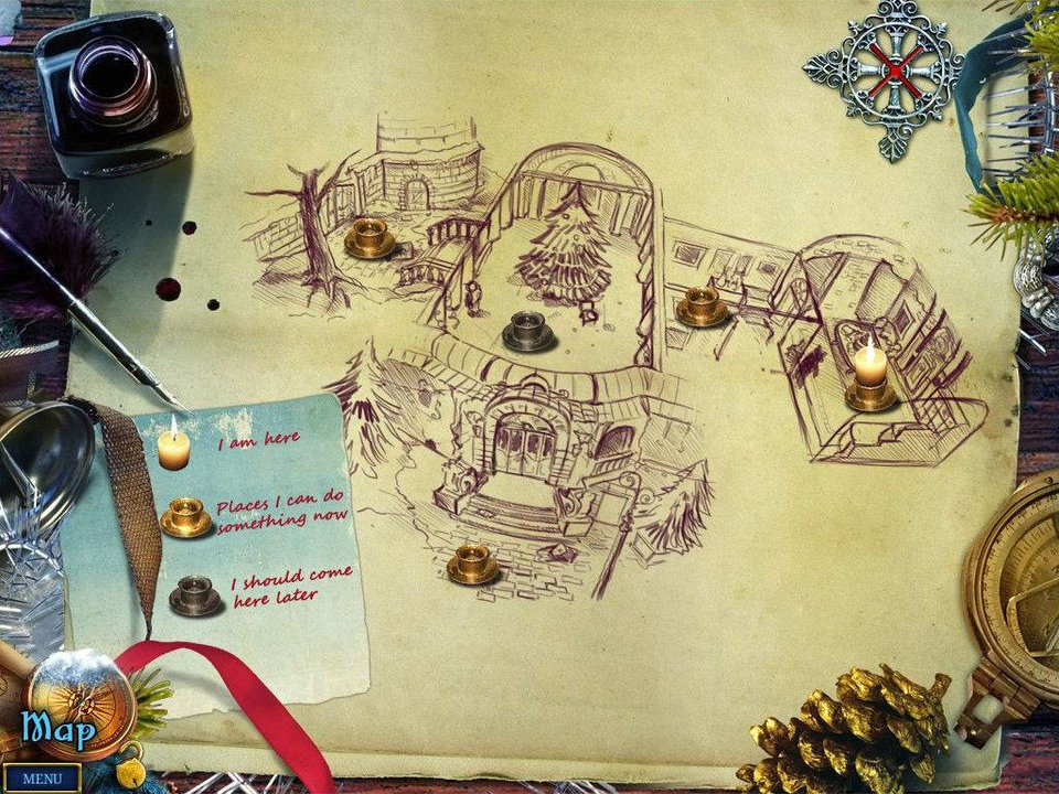 "Puzzles, hidden-object searches and characters from the Nutcracker are among the features of the new ""Christmas Stories: Nutcracker Collector's Edition HD"" for the iPad. PHOTO PROVIDED <strong></strong>"