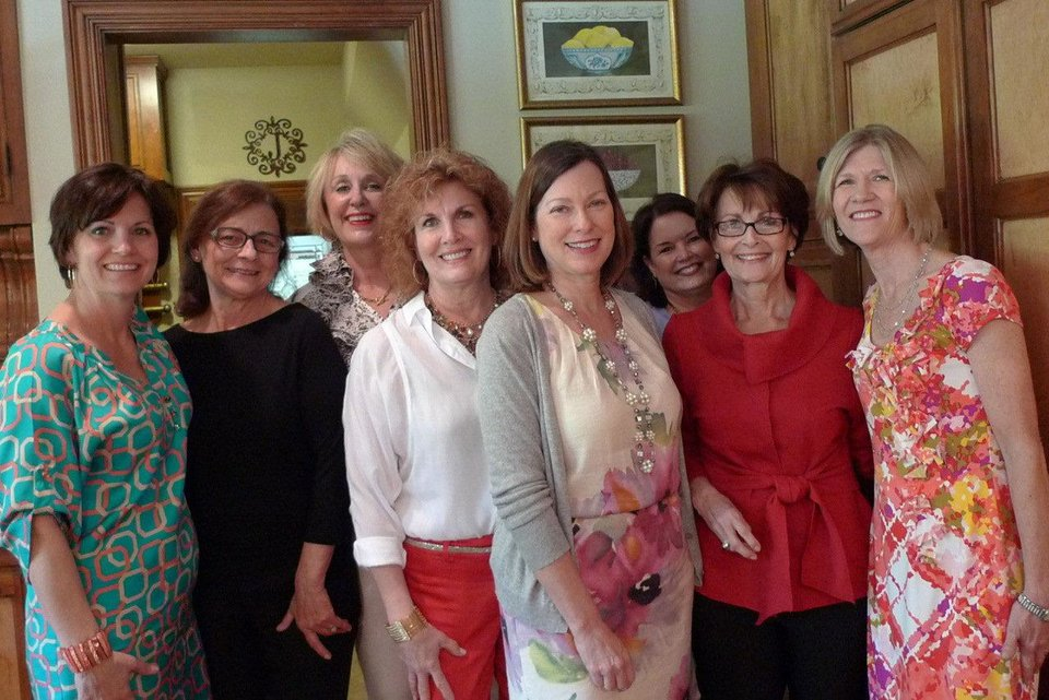 Kathy Frankenfield, Jana Reynolds, Kathey Duncan, Donna Weaver, Paige Shoemake, Cindy Bickford, Linda James and Christy Johnson.