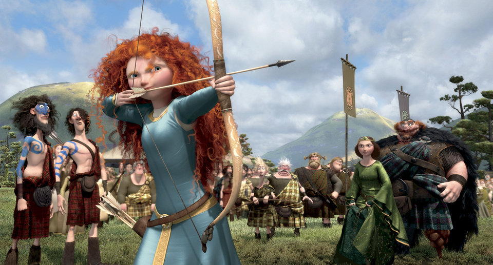 "The character Merida in ""Brave"" is voiced by Kelly Macdonald. Disney/Pixar Photo"