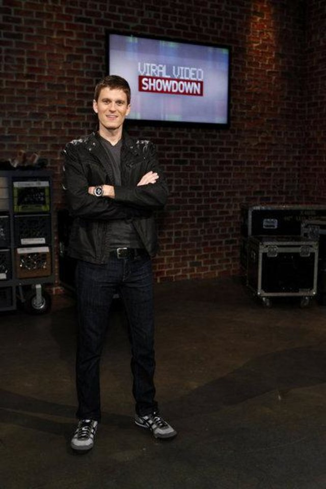 """Viral Video Showdown"" host Kevin Pereira SYFY PHOTO <strong>Syfy</strong>"