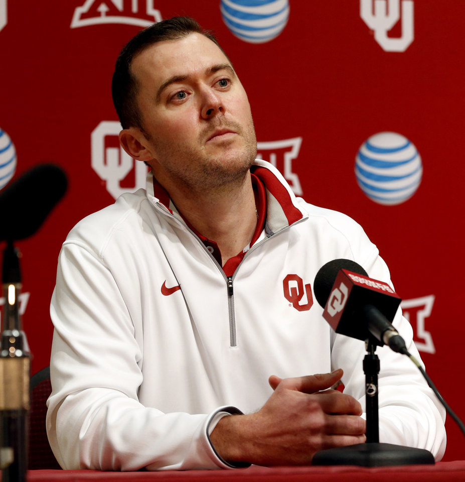 Photo -                    New OU offensive coordinator Lincoln Riley spent the last five years in the same position at East Carolina.                     Photo by Steve Sisney, The Oklahoman