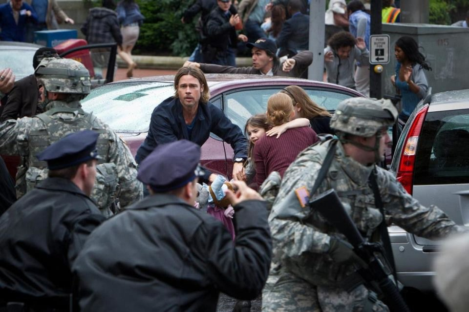 "Brad Pitt stars in ""World War Z."" Paramount Pictures photo <strong></strong>"
