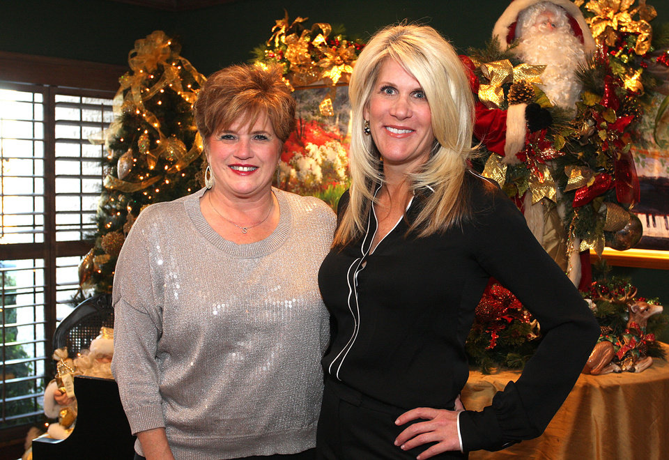 Photo - Sharon Tonseth, Laura Love. Photo by David Faytinger for the Oklahoman__