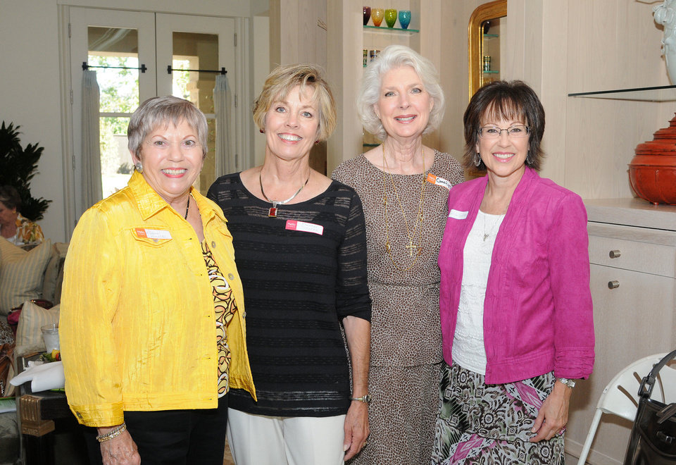 Deanna Pendleton, Barbara Spencer, Carolyn Sandusky, Susan Gertson. PHOTO BY DAVID FAYTINGER, FOR THE OKLAHOMAN  <strong></strong>