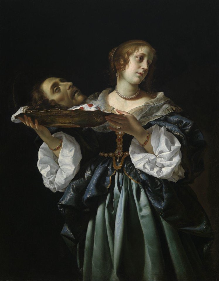 """Salome,"" circa 1681-85, by Carlo Dolci, is featured in the exhibit ""Of Heaven and Earth: 500 Years of Italian Painting from Glasgow Museums"" at the Oklahoma City Museum of Art. PHOTO PROVIDED <strong>PROVIDED</strong>"