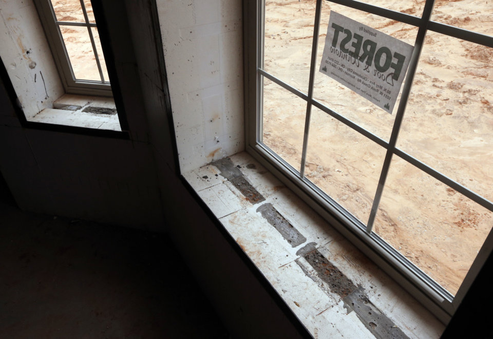 Oklahoma homeowner chooses concrete forms over wood frame for Foam concrete forms cost