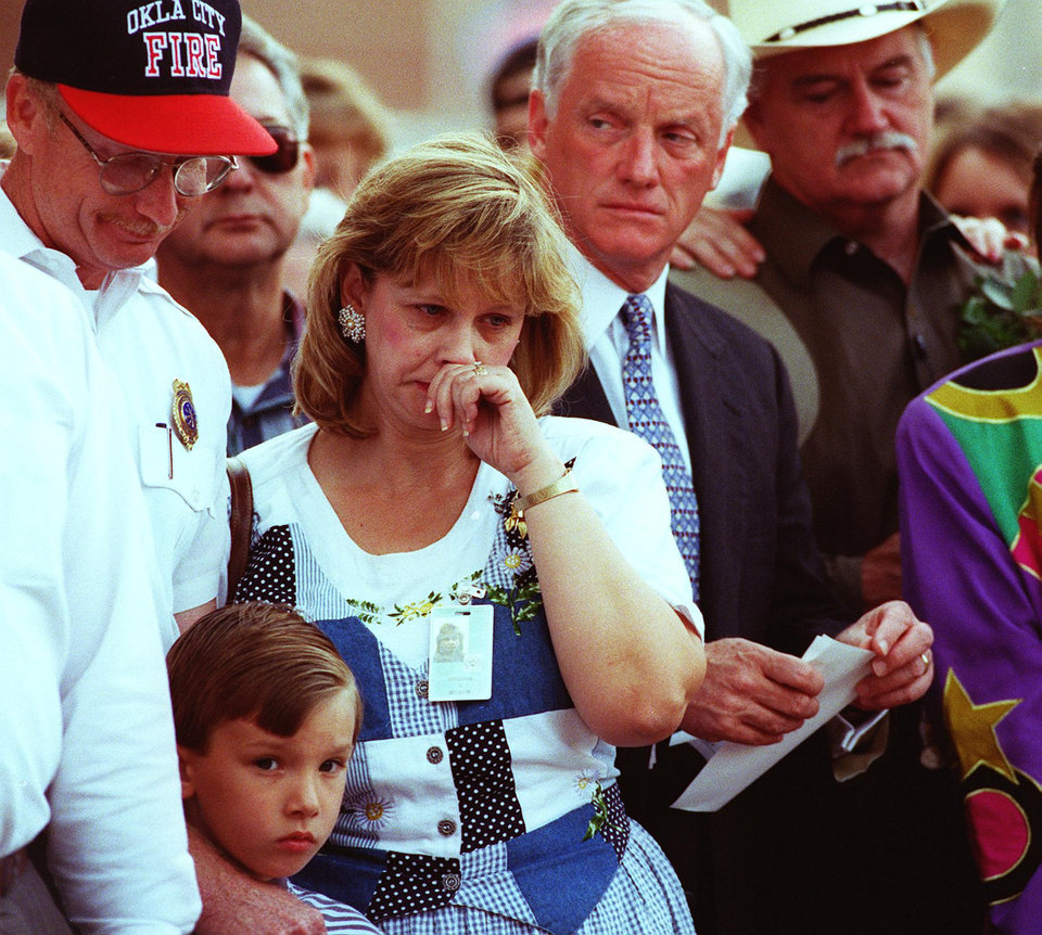 Photo - Victims and survivors, family and friends meet at the