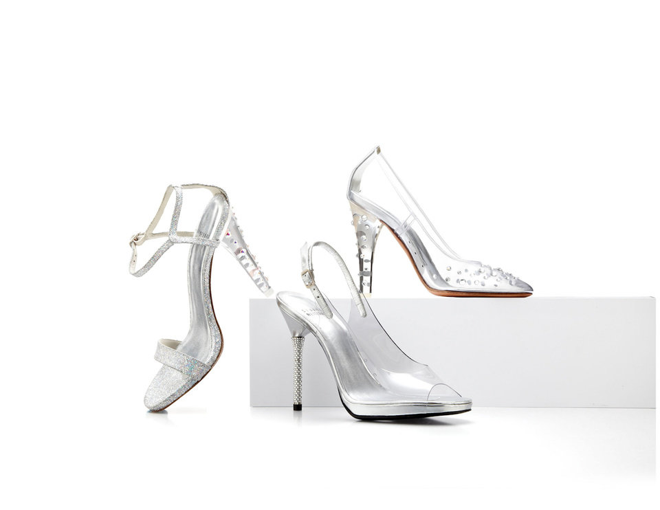 "Stuart Weitzman ""Clearly Timeless"" Capsule Collection.  (PRNewsFoto/Stuart Weitzman Holdings LLC)"