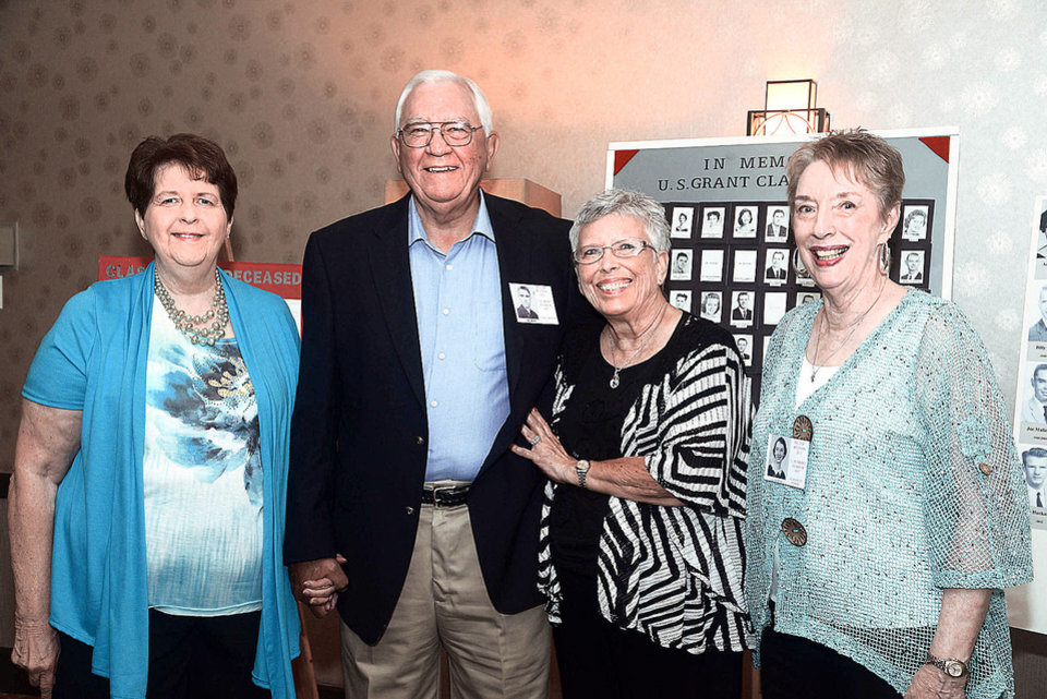 Photo - Joy Ann Warner, Larry and Bobbie Brocaw, Ellen Gilbert. Photo by David Faytinger, for The Oklahoman
