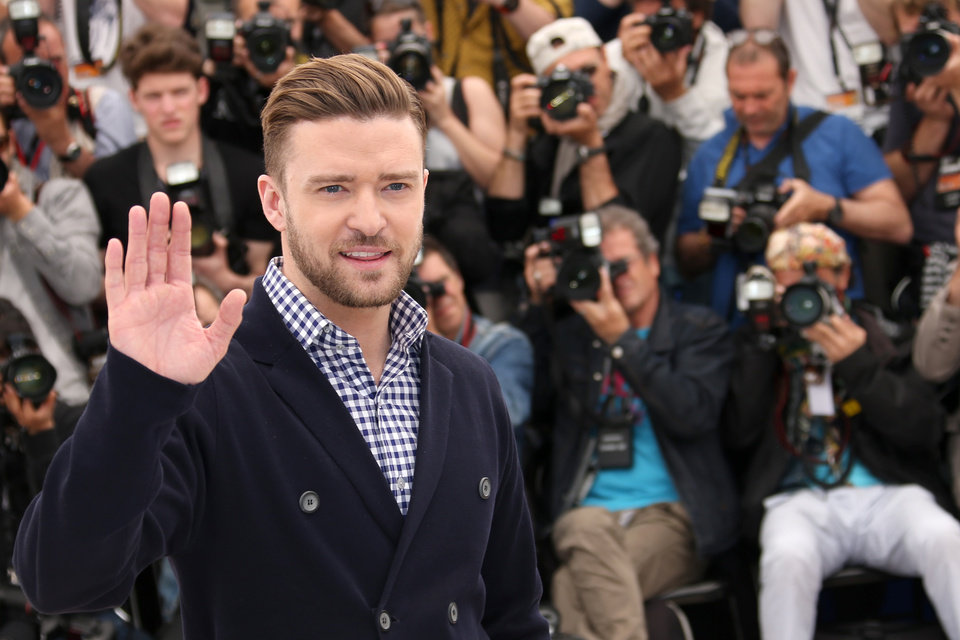 Photo - Actor Justin Timberlake poses for photographers during a photo call for the film Inside Llewyn Davis at the 66th international film festival, in Cannes, southern France, Sunday, May 19, 2013. (Photo by Joel Ryan/Invision/AP)