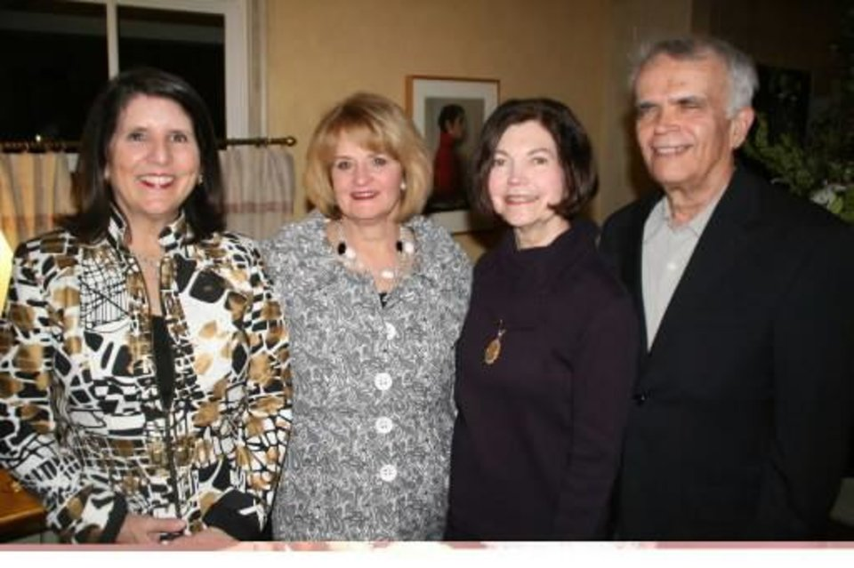 Mary Price, Gayle Kearns, Harolyn and Tom Enis. PHOTO PROVIDED