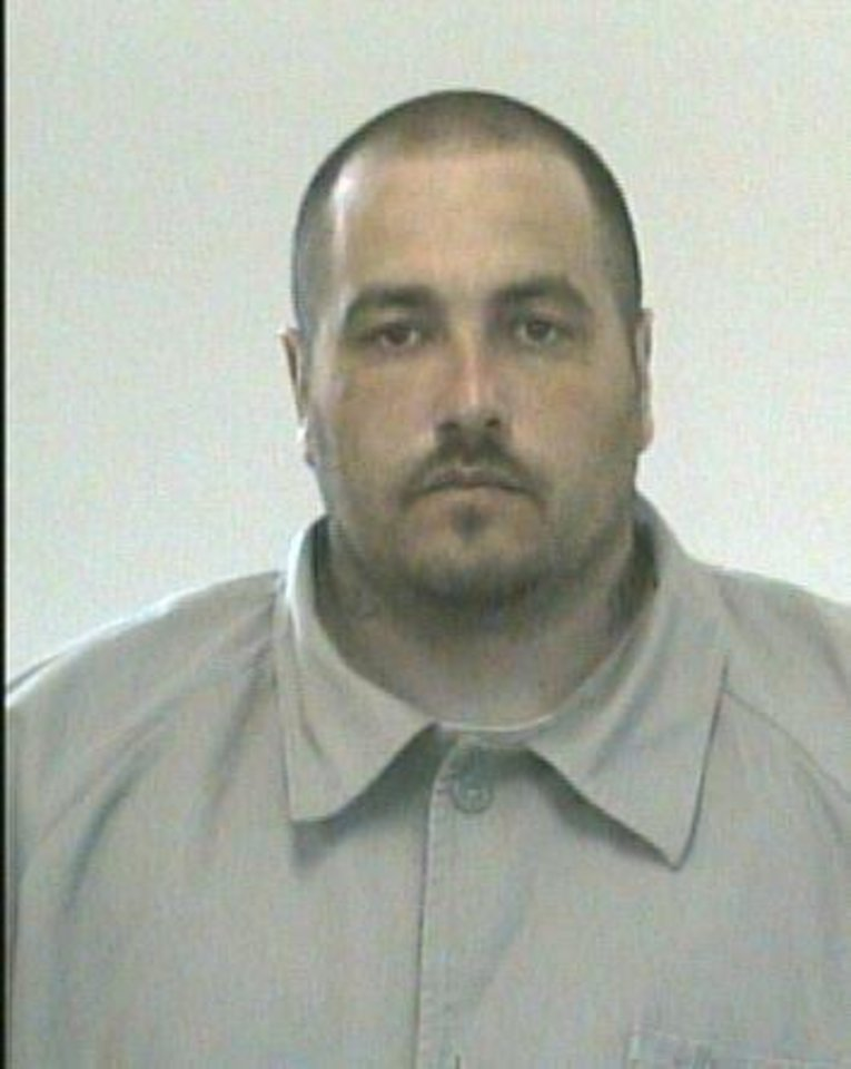 Photo - Anthony Brinsfield, 31, escaped from the William S. Key Correctional Center in Fort Supply June 10.   - Provided