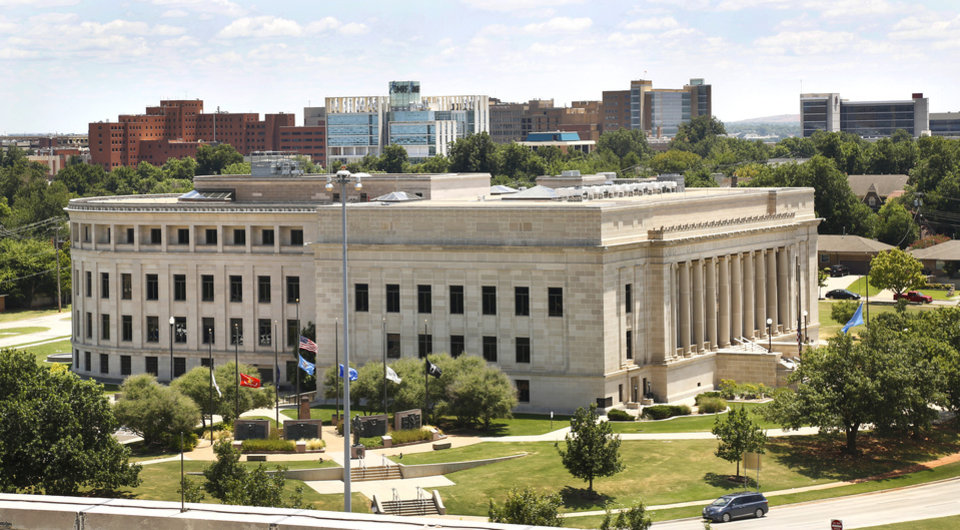Photo -  The Oklahoma Judicial Center, home to the Oklahoma Supreme Court, pictured on July 23, 2019. [Jim Beckel/The Oklahoman]