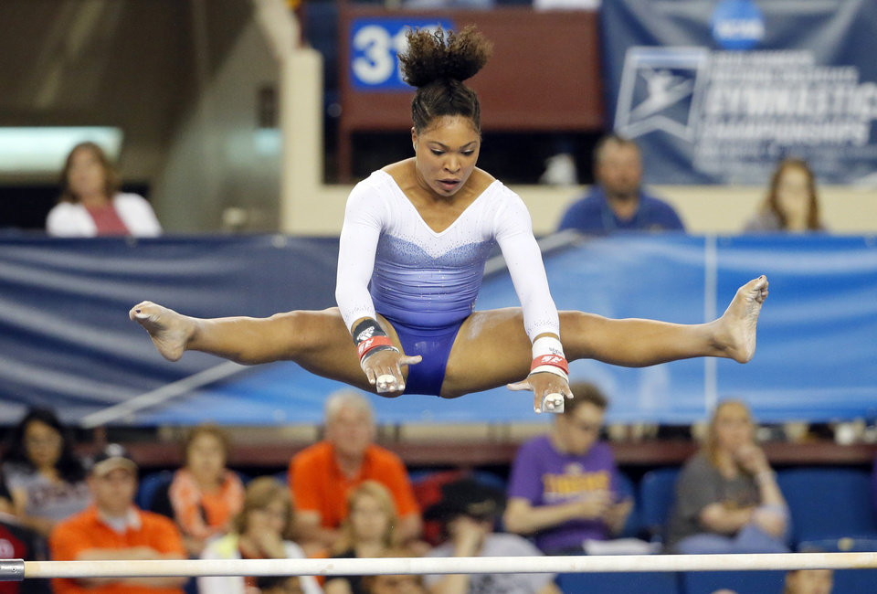 NCAA women's gymnastics championships starts in Fort Worth