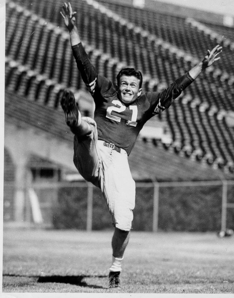 Photo - Darrell Royal, photo provided by OU Athletics Communications.