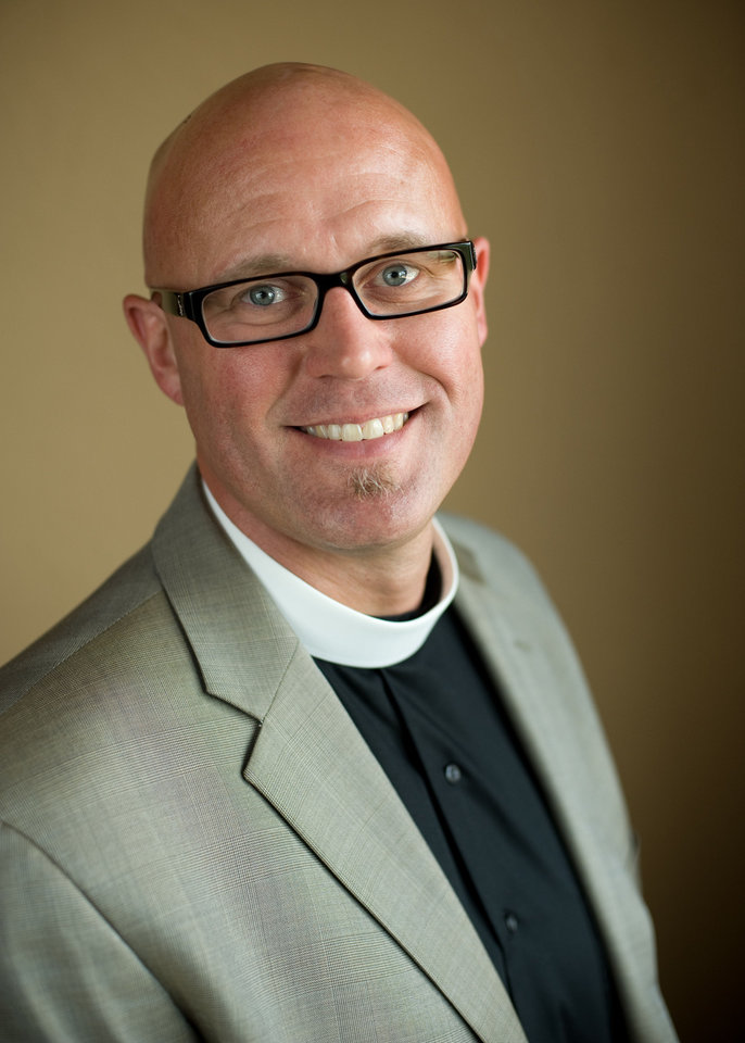 Photo - Rev. Justin Lindstrom. dean of St. Paul's Episcopal Cathedral in Oklahoma City
