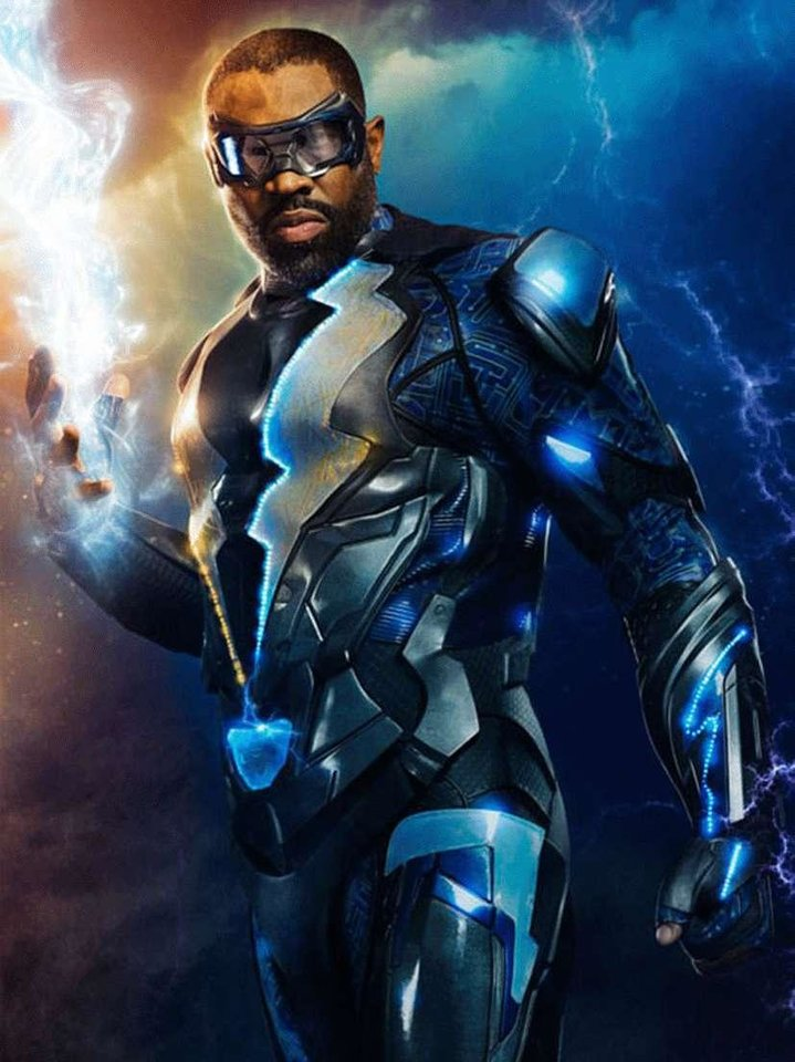 Photo - Black Lightning as featured on the CW. [CW]