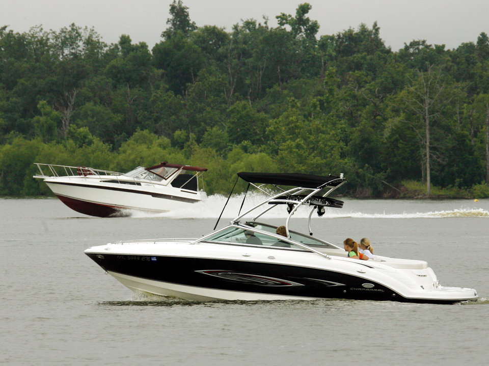 Boaters are encouraged to have fun responsibly.