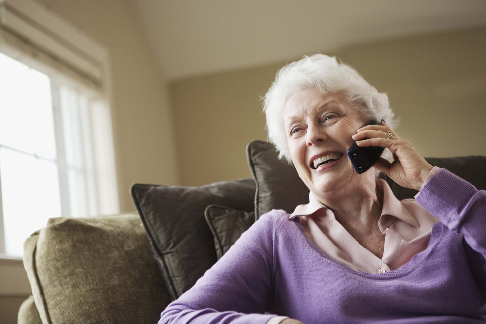 Photo -  Advocates for older people say telephone check-in programs can help seniors remain independent in their homes and give them ꟷ and their family members ꟷ peace of mind. [PHOTO PROVIDED]