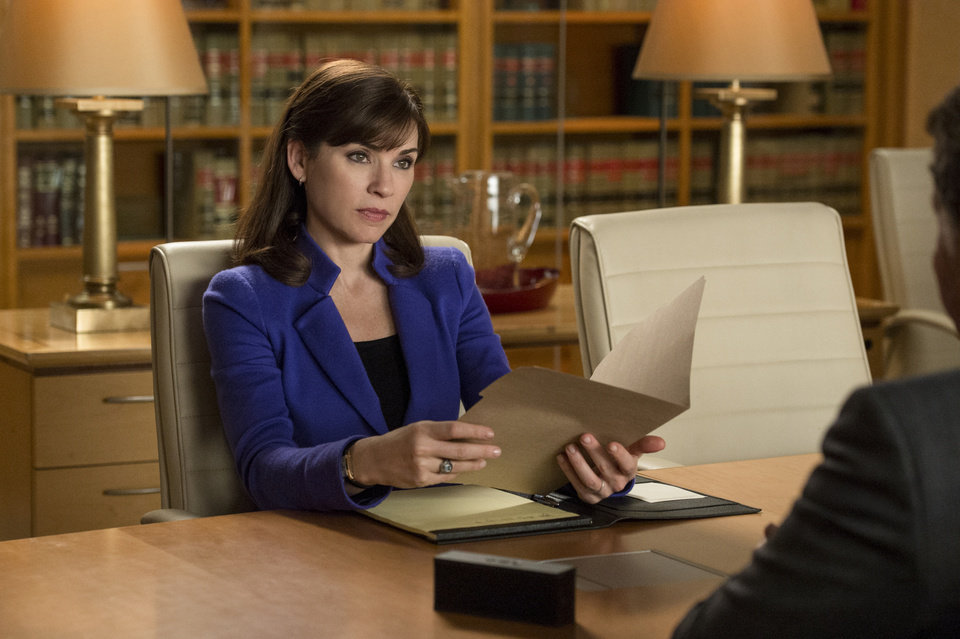 Photo - This image released by CBS shows Julianna Margulies as Alicia Florrick in a scene from