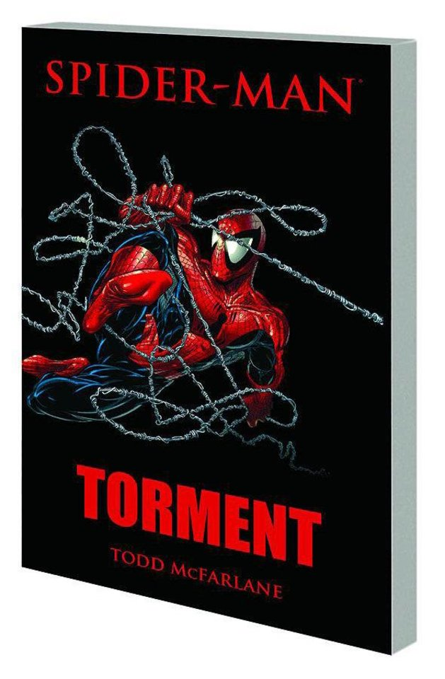 "Photo - ""Spider-Man: Torment"" by Todd McFarlane. Marvel Comics"