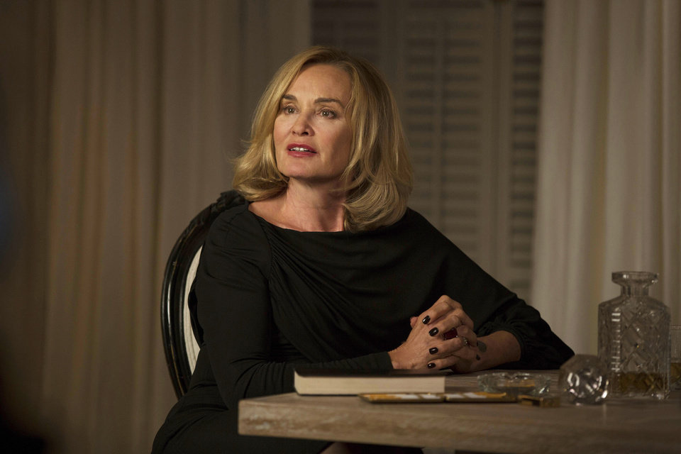Photo - This image released by FX shows Jessica Lange as Fiona in a scene from