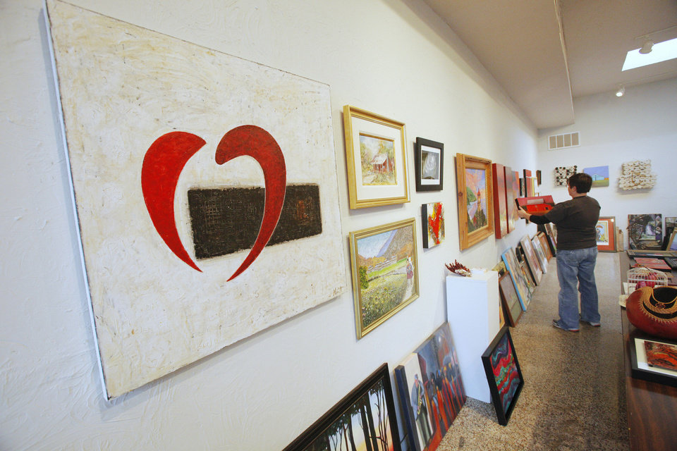 Photo - Artwork at Paseo Art Space will be judged for selection into the annual Paseo Art Association Member Juried Art Competition and Exhibition to benefit the Oklahoma Heart Hospital in Oklahoma City.