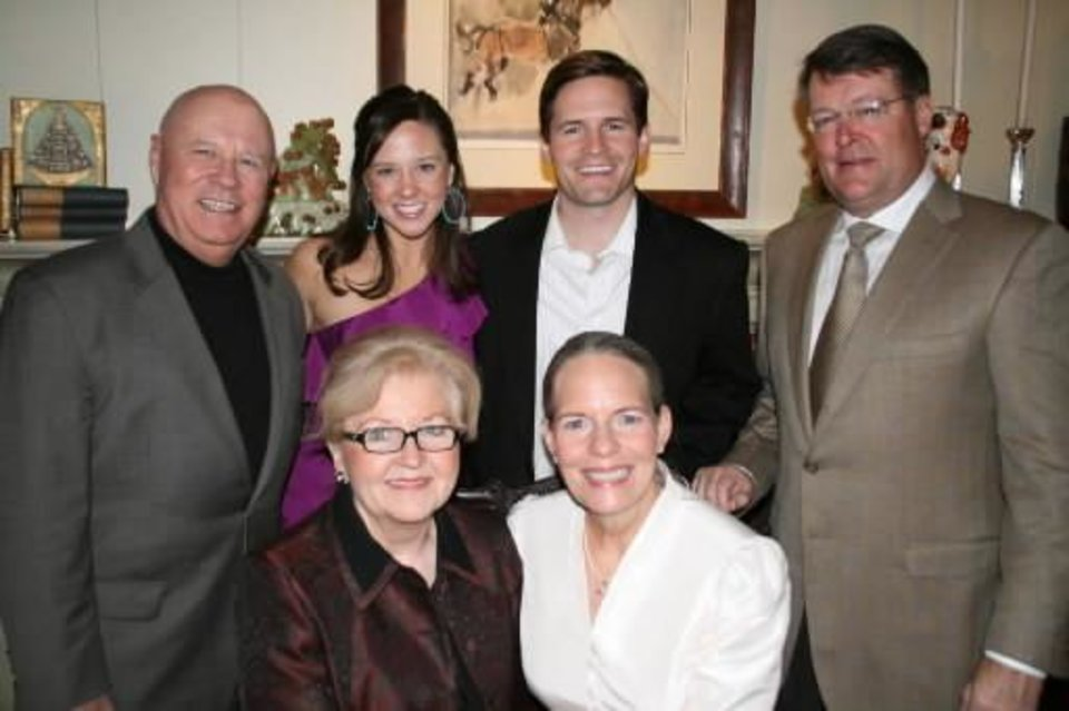 Back row: Steve Garrett, Lizanne Garrett, Joe Reger, Randy Reger; front row: Linda Garrett, Debby Reger. PHOTO PROVIDED