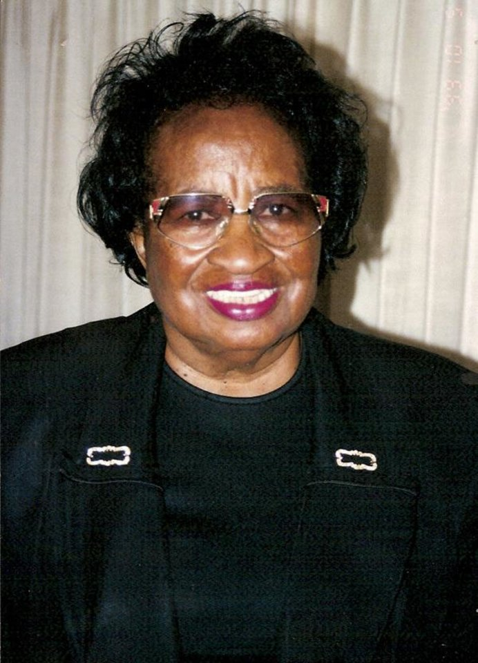 Photo - Clara Luper, 2007 Oklahoma Hall of Fame inductee. Photo provided by Okla Heritage Association. ORG XMIT: KOD