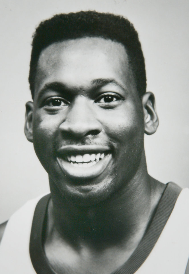 Photo - Former OU basketball player Wayman Tisdale. Indiana Pacers. Photo provided. Photo taken unknown, Photo published 1/3/1989 in The Daily Oklahoman. ORG XMIT: KOD