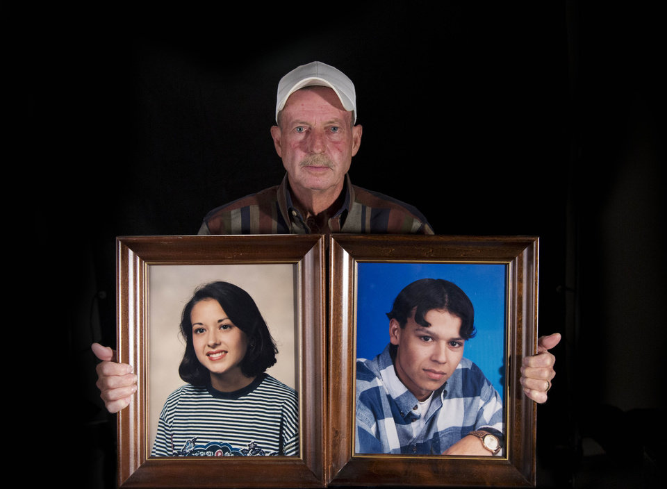 Photo - Roger Green lost both of his children, Amanda and Lance, in separate DUI crashes. Photo by Todd Fraser/The Oklahoman