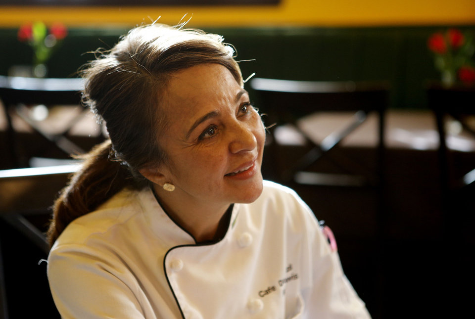 Chef Ana Davis at Cafe Do Brasil in Oklahoma City. Photo by Bryan Terry, The Oklahoman <strong>BRYAN TERRY - THE OKLAHOMAN</strong>